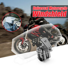 Motorcycle Adjustable Clip On Windshield Extension Spoiler Windscreen Deflector