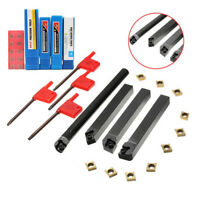 18Pcs 12mm Lathe Turning Tool Boring Bar Holder Carbide Inserts Wrench Set Call