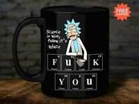 Rick Morty Science Is Wise Follow It'S Advice Coffee Tea Mug Ceramic 11Oz 15 ...