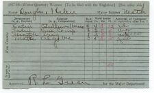 1917 Report Card for Female Student at Stanford University