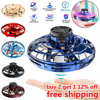 360° Mini Drone Smart UFO Aircraft for Kids Flying Toys RC Hand Control Gift Hot
