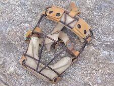 Vintage Baseball Catchers Mask Face Guard Metal Cage