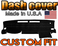 fits 2016 - 2018 TOYOTA TACOMA  DASH COVER MAT DASHBOARD PAD /  BLACK