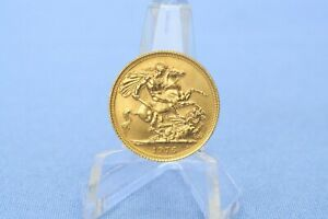 Großbritannien 1 Sovereign 1976 Elisabeth II  *7,98 Gramm - 917 Gold * Vz