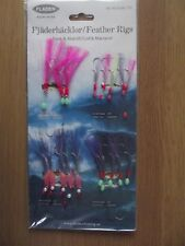 FLADEN COD AND MACKEREL FEATHER RIGS  ( 4 STYLES) 17-1235