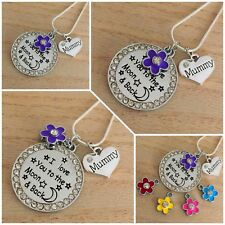 Personalised Gift Necklace for mum sister nanny- Mother's day Birthday Xmas gift