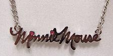 Collar De Minnie Mouse Original Disney joyas Totalmente Nuevo En Caja