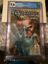 Aquaman #1 CGC 9.6 2003 DC Veitch, Guichet, Propst New case 2nd Highest,  Momoa