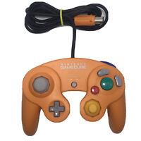 Official Nintendo Gamecube Spice Controller Orange Gamepad OEM DOL-003 Tested