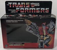 Vintage G1 Transformers Swoop Box For MIB Original Vintage 1980s Dinobot Lot 80s