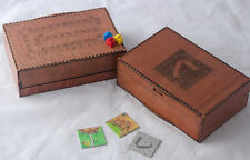 Caja De Viaje Carcassonne W Meeple Caja para las personas con caja de almacenamiento de BW Ya!