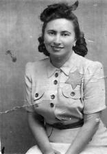 Photo. WW2. Holocaust. Woman Wearing Yellow Star