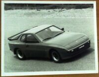 PORSCHE 944 PRESS PHOTOGRAPH UNDATED BLACK & WHITE