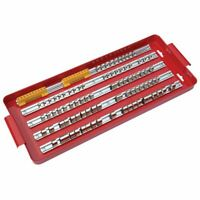"1/4"" 3/8"" and 1/2"" Socket Tray Rail Rack Set Sockets Storage Holder Garage"