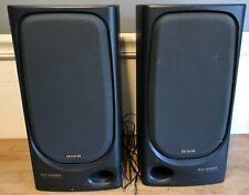 Vintage AIWA SPEAKER (2) SYSTEM # SX-N350 40W lot of 2 speakers Tested Working