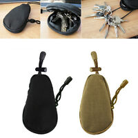 EDC Waterproof Key Bag Tactical Coins Pouch MP3 Keychain Holder Case Bag,