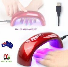 9W Mini Nail LED UV Lamp Nail Polish Gel Dryer EU/US USB Rainbow Nail Art Tools