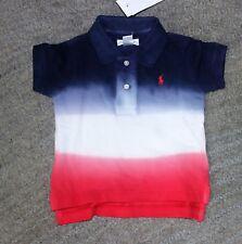 Ralph Lauren Baby Boys Polo Shirt - Size 9 Months - NWT