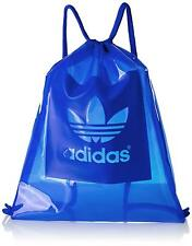 Adidas claro Saco De Gimnasio AJ6927 See Through Azul