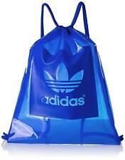 Adidas See Through Clear Gym Sack AJ6927 Blue