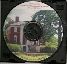South Carolina Historical and Genealogical Magazine 1914-1916 SC Genealogy