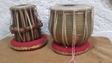 Paire de TABLA ancienne Inde Hindou percussion tambour
