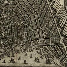 Amsterdam city plan 1652 Jansson Netherlands Nederland Hameleers #36