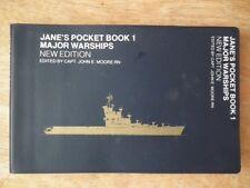 Jane's Pocket Book 1 Major Warships New Edition *Very Good Paperback*