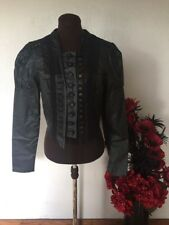 STUNNING STEAMPUNK/GOTHIC JACKET BY BOHEMIA OF SWEDEN BOHEMIAN, HIPPY, LAGENLOOK