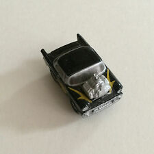 Micro Machines  '57 Chevy Hot Rod Black with Yellow Flames Galoob 1957