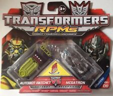 TRANSFORMERS - RMPs AUTOBOT RATCHET & MEGATRON Scale 1/64 Approximately