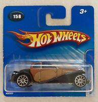 2005 Hotwheels 1932 Bugatti Type 50 Gold! Classic! Very Rare! Mint! MOC!