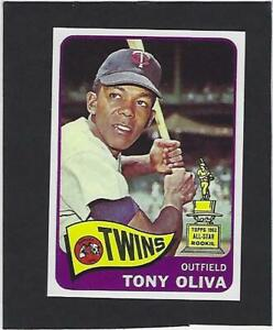 1965 TONY OLIVA TOPPS # 340 TWINS RP ALL STAR ROOKIE CARD