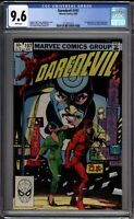 Daredevil 197 CGC Graded 9.6 NM+ Marvel Comics 1983