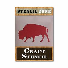 Bison Mylar AIRRUSH Painting Wall Art Stencil 3