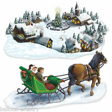Christmas Wonderland Scene Setter Add on Prop - WINTER VILLAGE