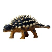 Simulation Static Dinosaur Model Saichania Dinosaur Toy Solid Wildlife Orna S9I6