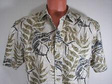Mens Shirt Reel Legends Medium Short Sleeve Cotton  Mesh Lining Fishing Outdoor