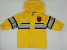 Carter's Boys 12m Raincoat Jacket Yellow Fire Man Themed Hooded Coat