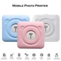 Bluetooth Wireless Small Thermal Printer Picture Mobile Photo Printer for phone