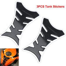 3x Motorcycle Tank Pad Sticker Motorbike Scratch Protect for Honda Yamaha Harley