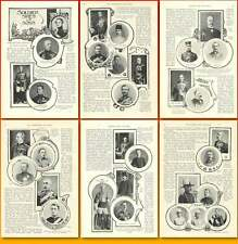 1899 Some Military Families With Reference To South Africa War