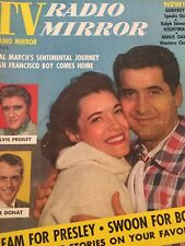 Vintage Collectible Magazine Tv Radio Mirror Jan 1957 Hal Candy March Cover