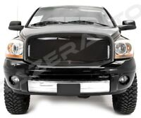 06-09 Dodge RAM Truck 2500+3500 Front Hood Black Mesh Grille+Replacement Shell