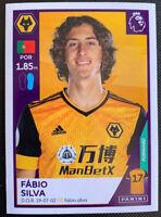 2021 Panini English Premier League Fabio Silva Wolverhampton Portugal #636
