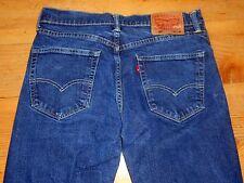 Levis Mens 505 Jeans 31 X 30  Dark Blue Wash ( 31 X 29 Actual)