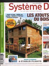 Système D n° 765 Les atouts du bois 8 établis pliants