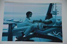 Marion Cotillard & Fassbender SIGNED 20x30cm AUTOGRAFO/Autograph in persona