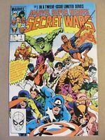 Marvel Super Heroes Secret Wars #1 Marvel 1984 Series Mike Zeck 9.2 Near Mint-