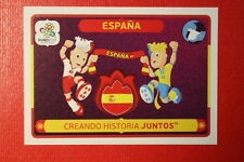 Panini EURO 2012 N. 38 ESPANA  NEW With BLACK BACK TOPMINT!!